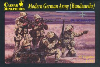 Caesar Miniatures 1 72 062 Modern German Army Bundeswehr