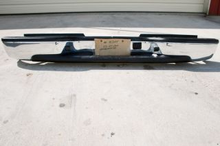 Rear Bumper 2003 2007 Chevy Silverado GMC Sierra 2500HD 3500