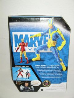 Marvel Universe Iron Man with Goliath Action Figure NIB