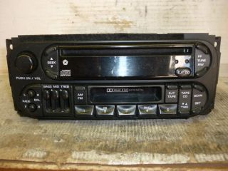 98 02 Dodge Neon Dakota Grand Cherokee Caravan Radio Cd Cassette