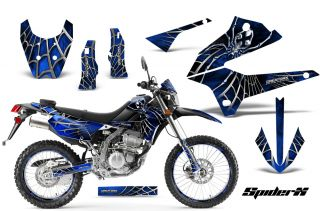 Kawasaki KLX 250 08 13 D Tracker Graphics Kit Decals Stickers Spiderx