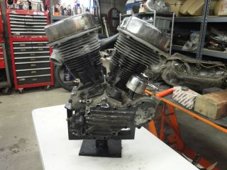Harley Davidson 1949 Panhead Motor Engine Cases Parts