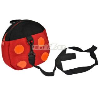 S0BZ Safe Harnesses Ladybug Bat Baby Kid Keeper Walking Backpack Strap