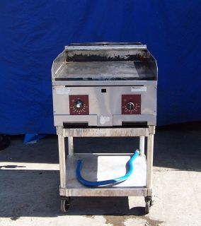 24 Southbend Flat Grill Griddle on Stand