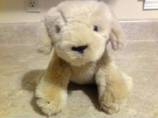 ADVENTURE INC GOLDEN RETRIEVER PUPPY DOG STUFFED ANIMAL PLUSH TOY