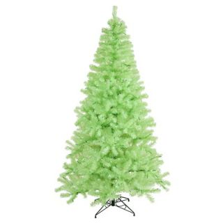Vickerman Flocked Sierra Fir 7.5 Artificial Christmas Tree with Clear