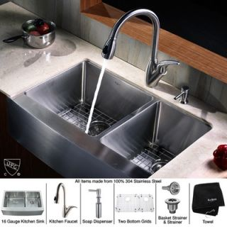 Price Pfister Marielle One Handle Widespread Kitchen Faucet with Side