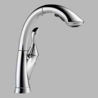 Delta Linden Single Handle Single Hole Centerset Kitchen Faucet