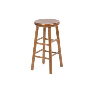 Winsome 24 Backless Swivel Counter Stool (Set of 2)