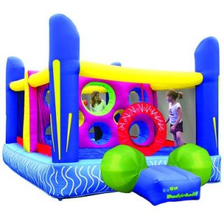 Kidwise Jumpn Dodgeball Bounce House   KWJC 101