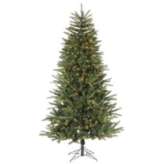 Vickerman 7 Bradfo Red Fir Artificial Christmas Tree with Clear