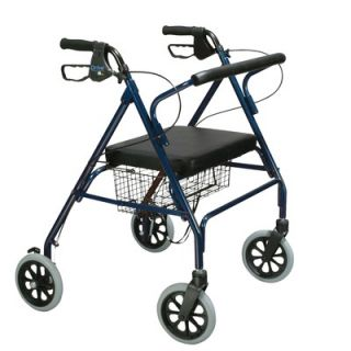 Drive Medical Heavy Duty Bariatric Rollator Walker with Large Padded