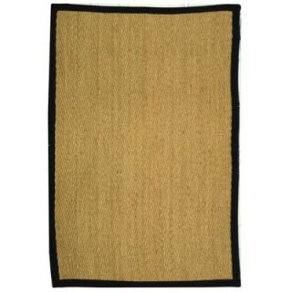 Safavieh Natural Fiber Natural/Black Rug   NF115C RE