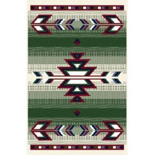 Home Dynamix Premium Hunter Green Rug   7053 hunter