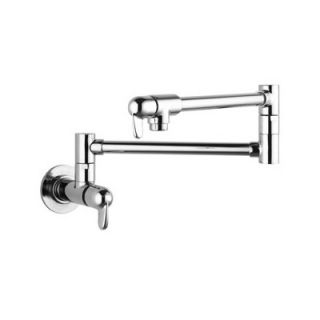 Hansgrohe Allegro E Two Handle Wall Mounted Pot Filler Faucet