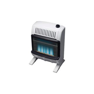 10000 BTU Liquid Propane Blue Vent Free Wall Mount Heater