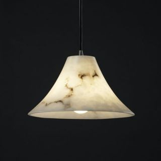 Justice Design Group LumenAria 1 Light Pendant   FAL 8860