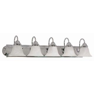 Nuvo Lighting Ballerina Vanity Light in Polished Chrome