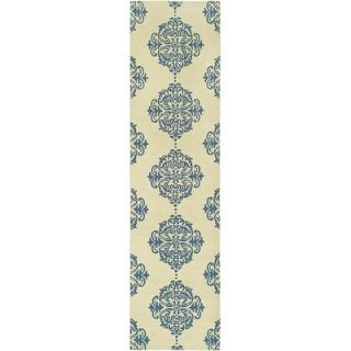 Safavieh Chelsea Ivory/Blue Rug   HK145A RE