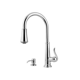 Price Pfister Ashfield One Handle Centerset Pull Out Kitchen Faucet