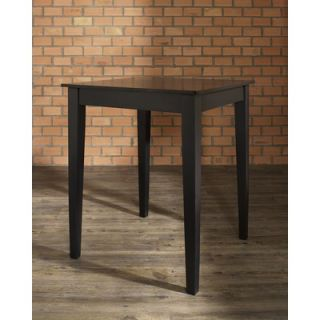 Crosley Tapered Leg Pub Table in Black   KD20002BK