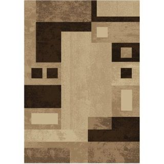 Home Dynamix Moda Beige/Brown Rug   HD806B 161