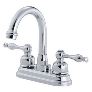Danze Sheridan Centerset Bathroom Sink Faucet with Double Lever