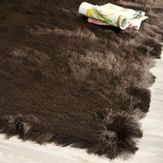 Safavieh Paris Shag Chocolate Flokati Rug   SG511 2727