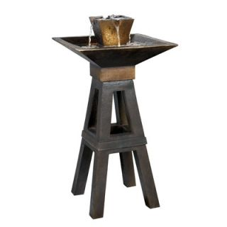 Kenroy Home Copper Kenei Outdoor Floor Fountain   50613CPBZ