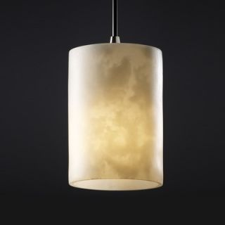 Justice Design Group Clouds 1 Light Pendant   CLD 8815