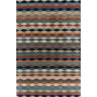 Dash and Albert Rugs Woven Yacht Stripe Brick Stripe Rug