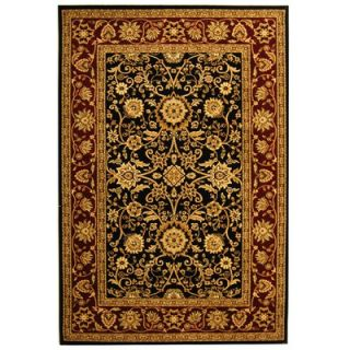 Safavieh Lyndhurst Black/Red Rug   LNH212G RE