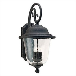 Sea Gull Lighting Trafalgar Outdoor Wall Lantern in Oxidized Bronze