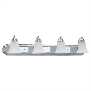 Sea Gull Lighting Wexford Vanity Light in Chrome   Energy Star
