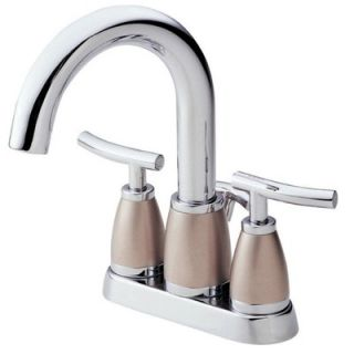 Danze Sonora Centerset Bathroom Sink Faucet with Double Lever Handles
