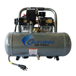 1610A Ultra Quiet & Oil Free 1.0 Hp, 1.6 Gal. Aluminum Tank Air