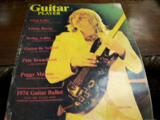 Guitar Player Magazine September 1974 Greg Lake 052912EL3