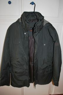 HAWKE CO Outfitter Mens Brown Jacket Medium