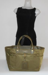 Handbag Olive Green Preppy Nylon Leather Hayley x Large Tote