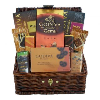 Chocolate Lovers Only Gourmet Holiday Christmas Gift Basket