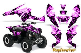 CAN AM RENEGADE GRAPHICS KIT DECALS STICKERS CREATORX RCP