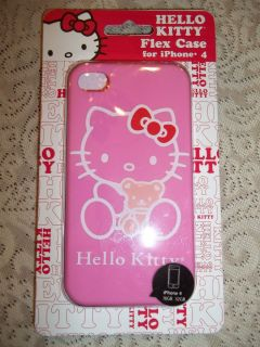 HELLO KITTY CELL PHONE CASE PINK NWT GREAT HOLIDAY ITEM