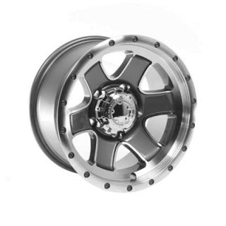 Summit Racing Nomad Diamond Cut Wheel 15x8 5x5 5 Set of 2