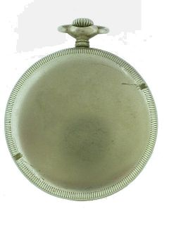 Huber Berlin/Helvetia WWII German Army pocket watch circa 1940 (Ref