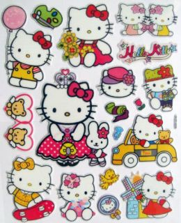 Cheap Cute Hello Kitty Cartoon Stickers Children Room Baby Sticker