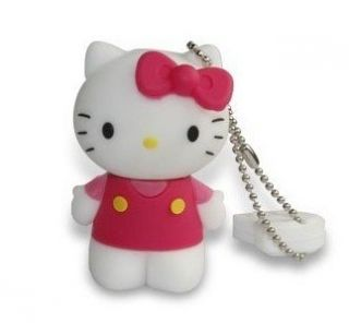 New 4GB USB Lovely Hello Kitty Full Capacity USB Flash Drive