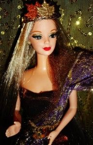Autumn Harvest Fall Goddess OOAK Barbie Doll Fantasy