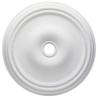 Westinghouse Lighting 7776000 Belmont Polyurethane Ceiling Medallion