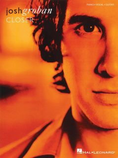 Josh Groban Closer Piano Vocal Guitar Song Book New