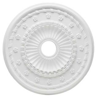 Westinghouse Lighting 7775300 Aureole Polyurethane Ceiling Medallion